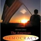 The American Democracy 6th by Thomas E. Patterson 0072531401