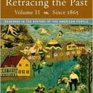 Retracing the Past: 5th Volume II: to 1865 by Nash 0321101383