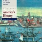 America's History, 5th Volume I: To 1877 by James A. Henretta 0312409346