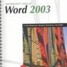 New Perspectives on Microsoft Office Word 2003 - Comprehensive by Zimmerman 0619206691