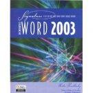 Microsoft Word 2003 by Rutkosky 0763820849