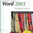 New Perspectives on Microsoft Office Word 2003 Comprehensive by Zimmerman 1418839116
