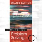 Problem Solving with C++: The Object of Programming 5th by Savitch 0321268652