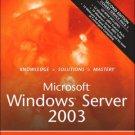 Microsoft Windows Server 2003 Unleashed 2nd by Rand Morimoto 0672326671