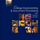 Gregg College Keyboarding & Document Processing 10th by Scot Ober 0072963417