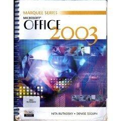 Microsoft Office 2003 by Denise Seguin 0763820741