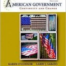 American Government 8th by Karen O'Connor 0205511430
