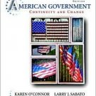 American Government 2008 9th by Karen O'Connor 0321415337