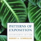 Patterns of Exposition 17th by Robert A. Schwegler 0321146166