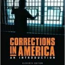 Corrections in America 11th by Harry E. Allen 0131950851