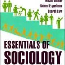 Essentials of Sociology 2nd by Richard P. Appelbaum 0393930335