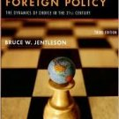 American Foreign Policy 3rd by Bruce W. Jentleson 0393928594
