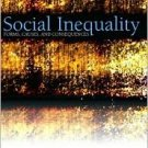 Social Inequality: Forms, Causes, and Consequences 5th by Hurst 0205375596