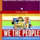 We the People 4th by Benjamin Ginsberg 039397930X