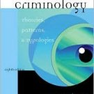 Criminology: Theories, Patterns and Typologies 8th by Larry J. Siegel 0534615783