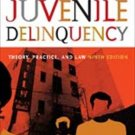 Juvenile Delinquency Theory, Practice, and Law 9th Ed by Larry J. Siegel 0534645666