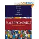 Macroeconomics Public and Private Choice 12 Ed.by James D. Gwartney 0324580193