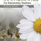 Mathematics for Elementary Teachers An Activity Approach 7th ed by Albert B. Bennett 0073053708