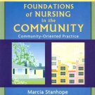 Foundations of Nursing in the Community 2nd Edition by Marcia Stanhope 0323032095
