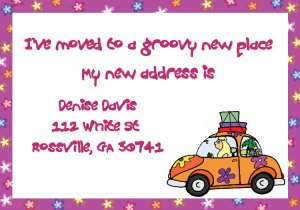 Moving just moved announcements hippy chick
