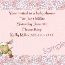 baby shower invitations personalized cute lamb