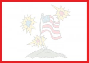 Independence day, 4th of July, invitations, personalized