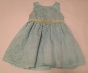 Just for You,  Infant Girts,   Dress, Size 18 months, Green/White Floral