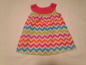 Nursery  Rhyme,, Infant  Dress,  Size 12 months,  Pastel Print