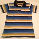 US Polo Assoc, Toddler Boys, Size 5/6, Yellow//Blue/White Striped, Polo