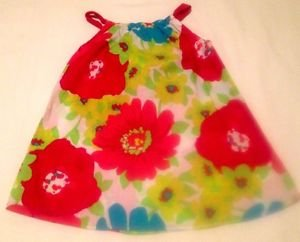 The Children's Place,  Infant Girts,   Dress, Size 9-12 months, Pastel Floral