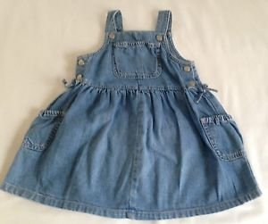 Old Navy, Infant Girts, Dress/Jumper, Size 18-24 months, Blue Denim