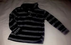 BabyGap, Infant   Boys, Size 18-24 months, Blu/White Striped, Polo Shirt,