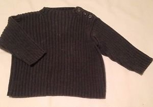 BabyGap, Infant Boys, Sweater, Size 12-18 months, Charcoal Gray,, Warm!