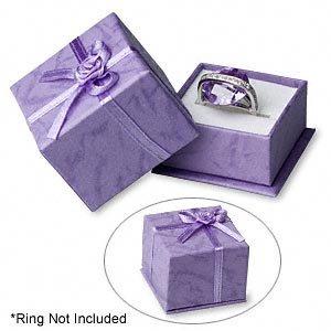 Nice Purple Ring Box