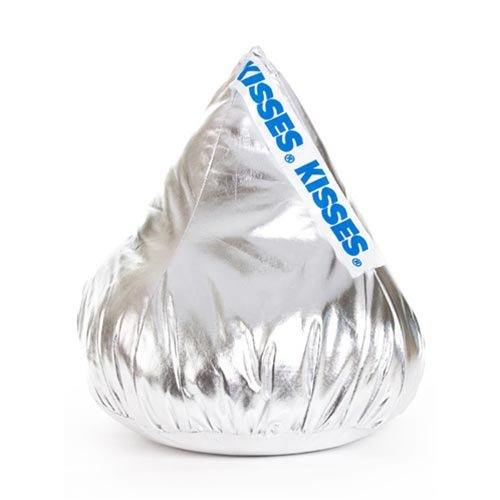 """Official Licensed Product: 18"""" x 15""""  Large Hershey's Kiss Candy Plush Pillow"""