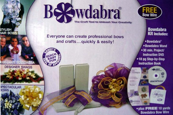 Simple-to-Use Bowdabra Bow Maker Tool Kit