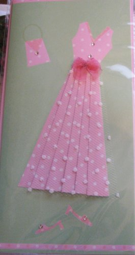 """*FREE SHIPPING to US & CANADA* Handcrafted """"GO PARTY - INVITATION"""" Greeting Card: BLANK INSIDE"""