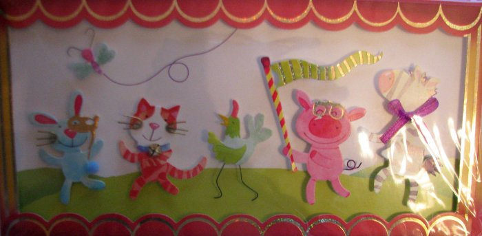 """Handcrafted Greeting Card: """"You've got the music in you!"""""""