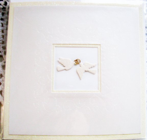 """""""Wishing you a lifetime of love and happiness"""" Handcrafted Greeting Card"""