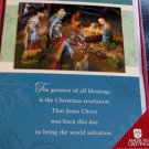 "AMERICAN GREETINGS 18 Cards & Envelopes ""Jesus Christ Was Born This Day!"""
