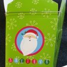 Set of 2 GIFT GIVING Santa Take-Out Paper Boxes