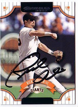 Rich Aurilia Authentic Autographed Card - Great Autograph