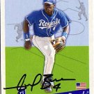 Angel Berroa Authentic Autographed Card - Great Autograph