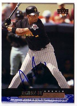Aramis Ramirez Authentic Autographed Card - Great Autograph