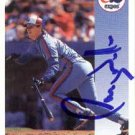 Larry Walker Authentic Autographed Card - Great Autograph