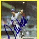 David Wells Authentic Autographed Card - Great Autograph