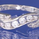 0.30ctw Russian Diamond Engagement Ring Size M or O