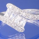 0.95ctw STUNNING RUSSIAN DIAMOND ENGAGEMENT RING Size M or O