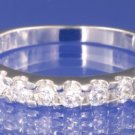 1.0ctw RUSSIAN DIAMOND ENGAGEMENT RING size I1/2 or O