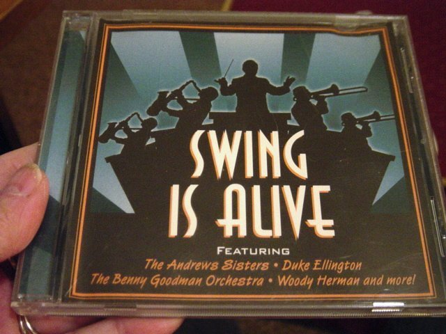Swing is Alive Big Band Music CD Various Artists #400131